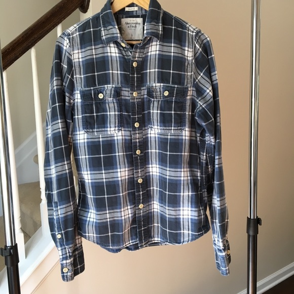 Abercrombie & Fitch Other - Abercrombie & Fitch Men's Muscle Flannel Large